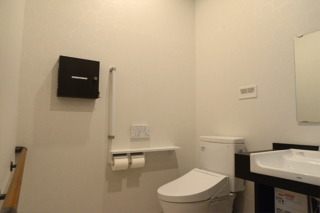 トイレ①(車椅子でも利用可能)