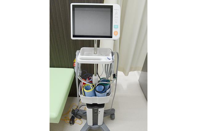 動脈硬化検査(CAVI)